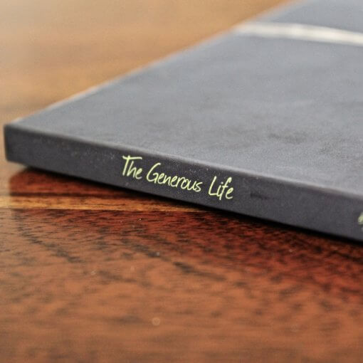 The Generous Life Book Side Resolute Mens Ministry