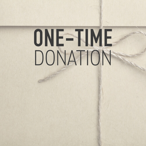 Donate One-Time