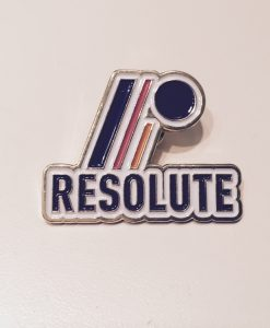 Resolute Pin Front