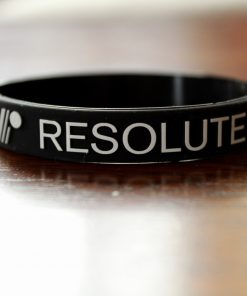 Resolute Mens Ministry Wristband