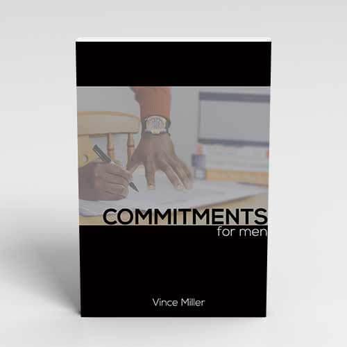 Commitment for Men Handbook by Vince Miller