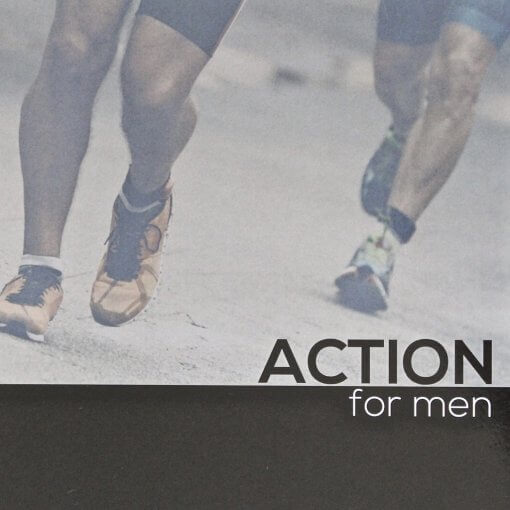 Action Bible Study For Men