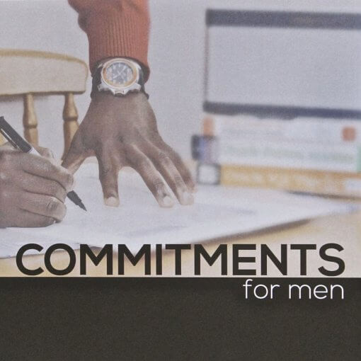 Commitments For Men Bible Studies