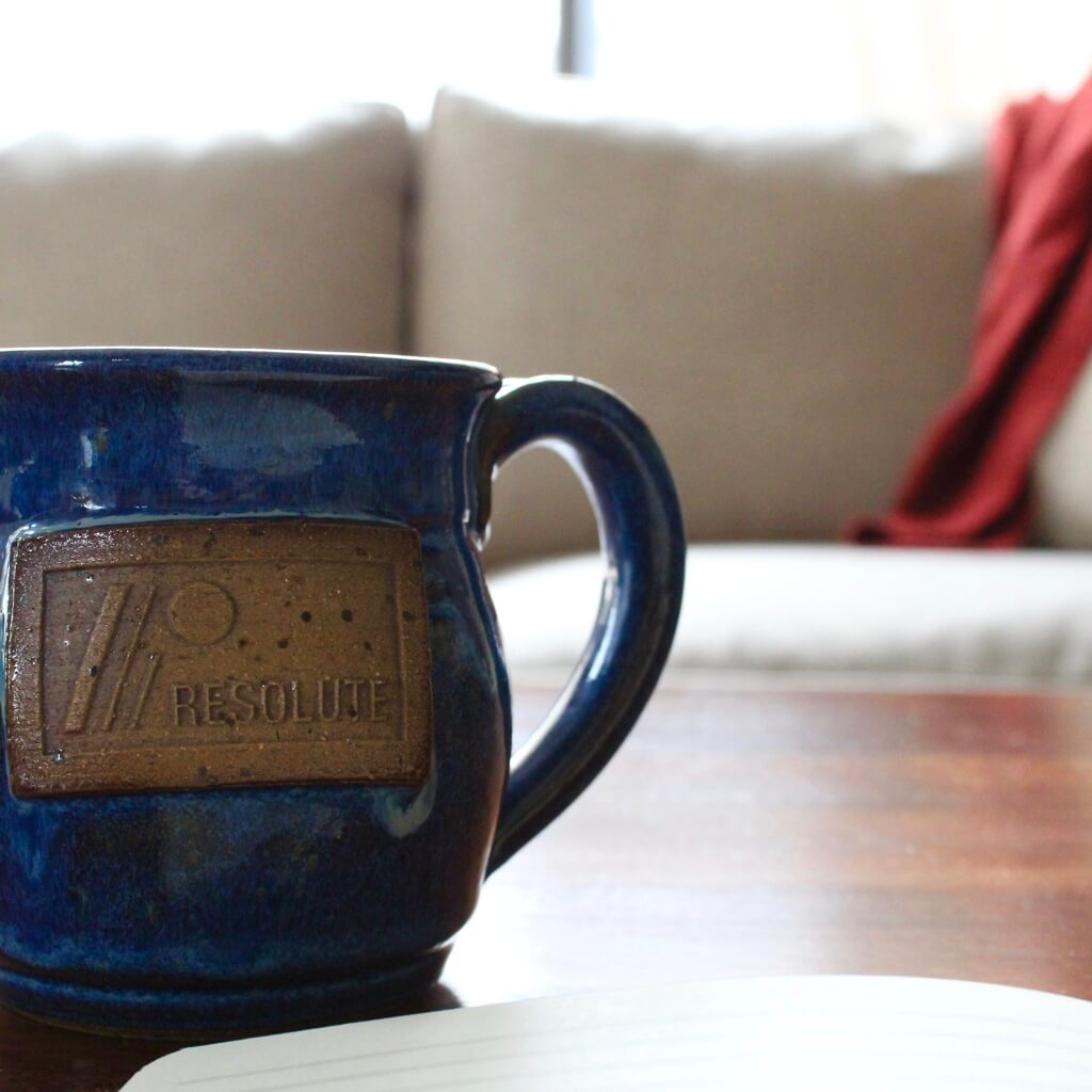 Resolute Mens Ministry Mug