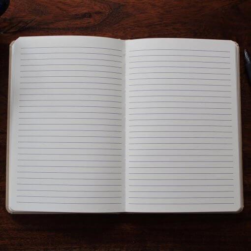 Resolute Mens Journal Interior