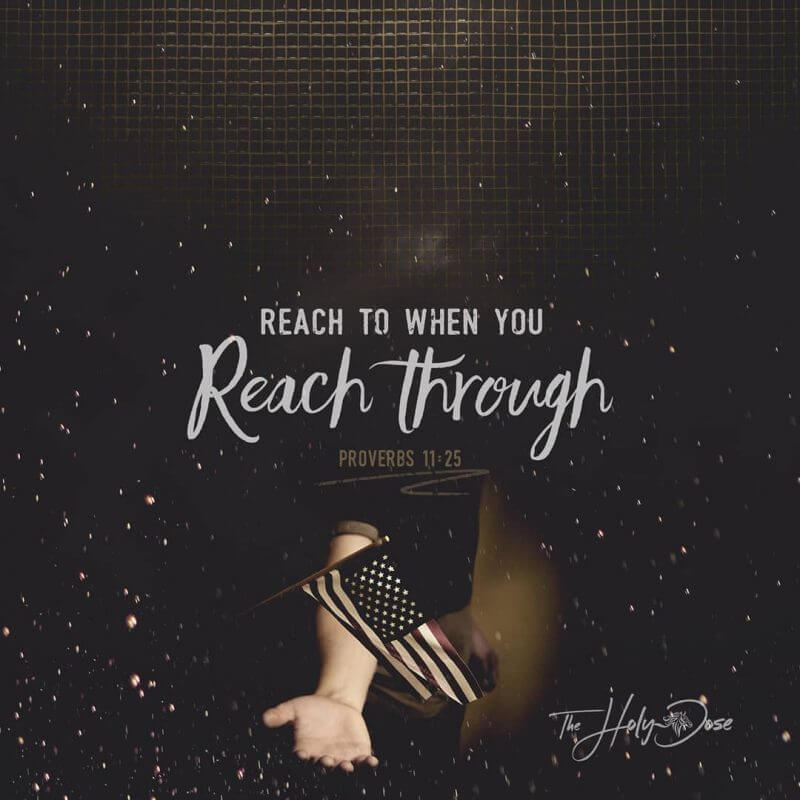 Reach to When You Reach Through from The Holy Dose