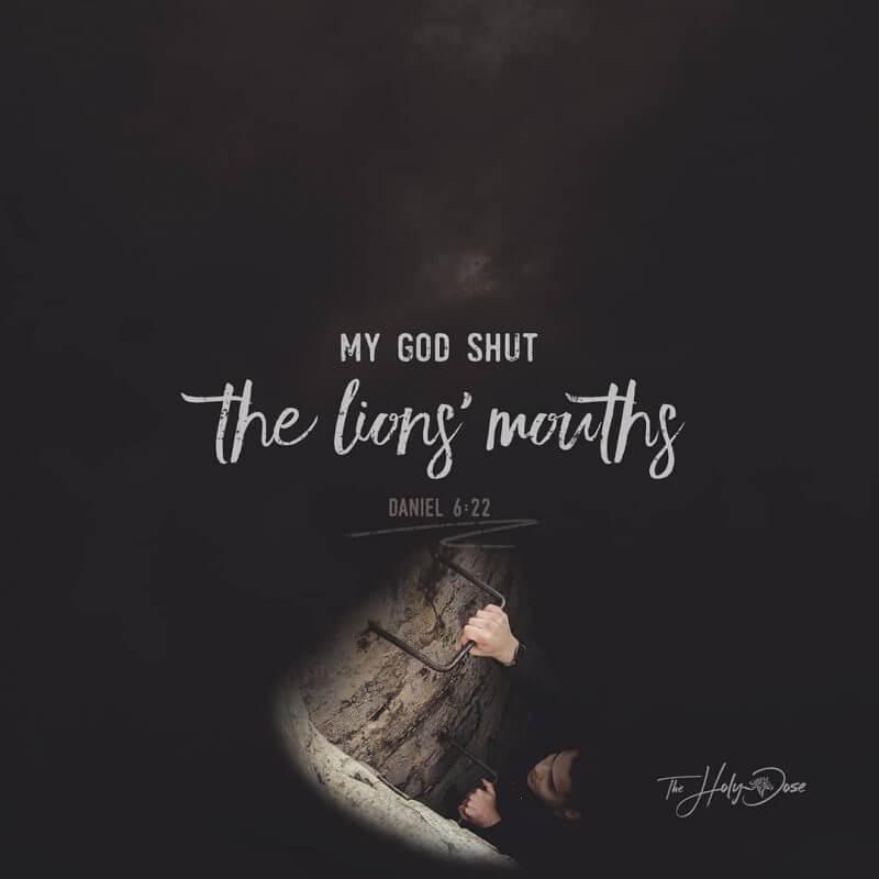 My God Shut The Lion's Mouths