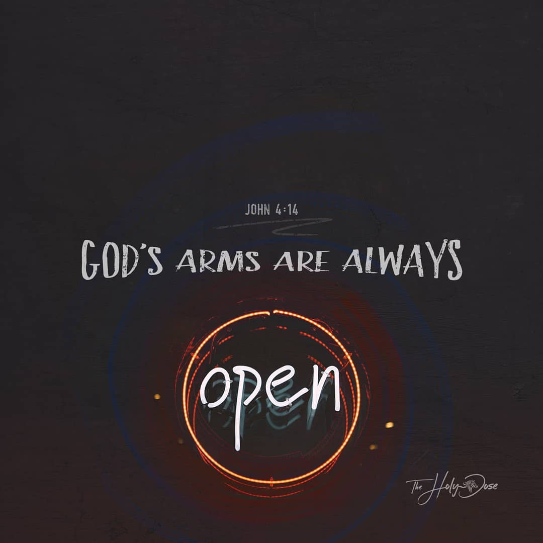 God's Arms Are Always Open