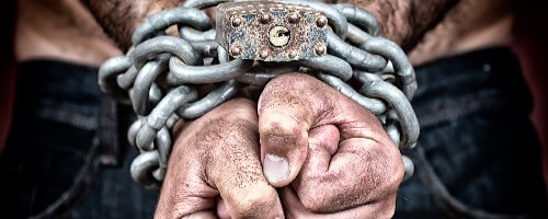 Chained Man a blog by Vince Miller of Resolute Mens Bible Studies