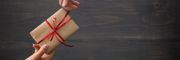 Giving a Gift a Daily Devotional by Vince Miller