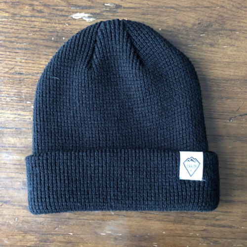 All In Cuffed Beanie - Black Big by Vince Miller