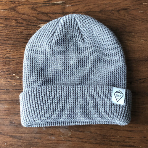 All In Cuffed Beanie - Gray Big by Vince Miller