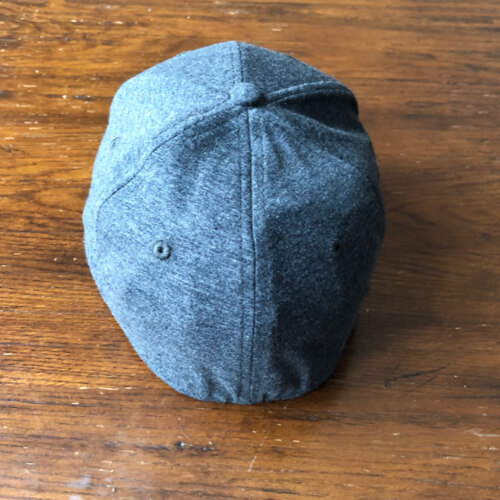 All In Stretch Fit Hat - Back Gray by Vince Miller