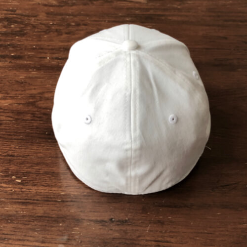 All In Stretch Fit Hat - Back White by Vince Miller