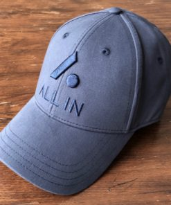 All In Stretch Fit Hat - Front Angle Navy by Vince Miller