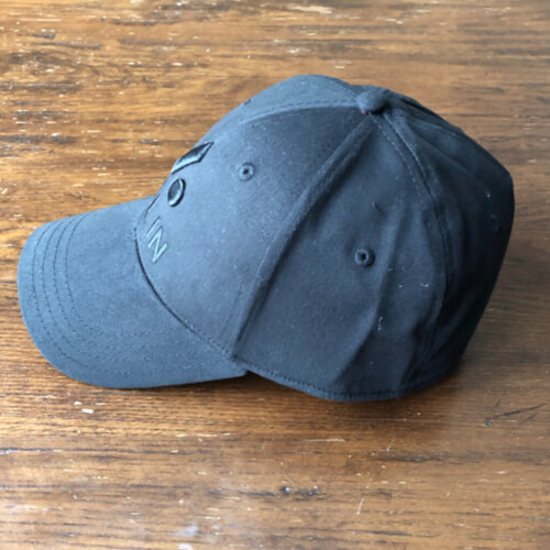 All In Stretch Fit Hat - Side Black by Vince Miller