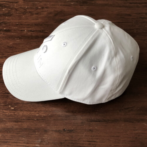 All In Stretch Fit Hat - Side White by Vince Miller
