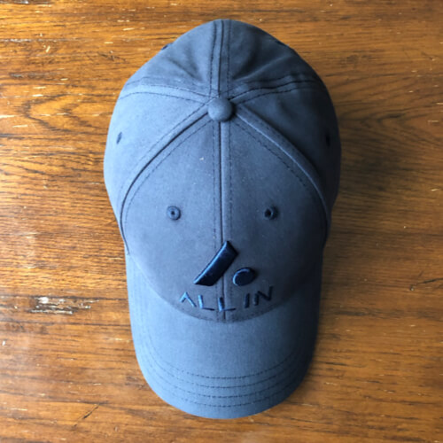 All In Stretch Fit Hat - Top Navy by Vince Miller