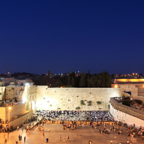 Jerusalem Build It a daily devotional by Vince Miller