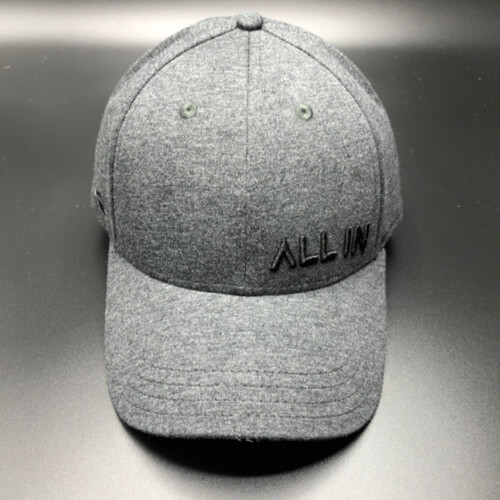 All In Hats Black Chambray by Vince Miller Front 2