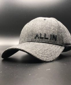 All In Hats Black Herringbone by Vince Miller Home 2