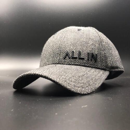 All In Hats Black Herringbone by Vince Miller Home 2