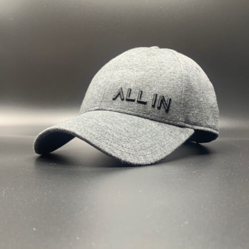 All In Hats Black Oxford Chambray by Vince Miller Home