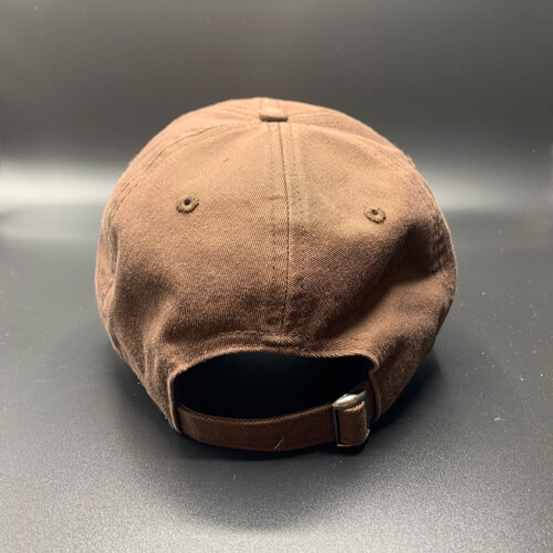 All In Hats Golf Brown by Vince Miller Back