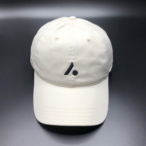 All In Hats Golf Cream by Vince Miller Front 2