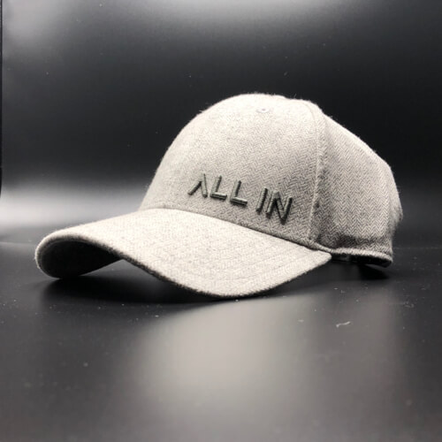 All In Hats Grey Herringbone by Vince Miller Home 2