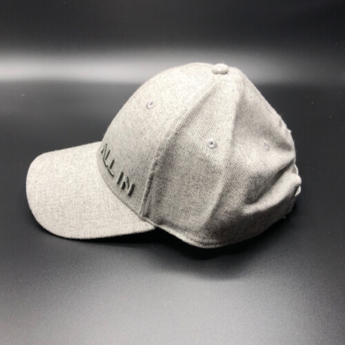 All In Hats Grey Herringbone by Vince Miller Side 2