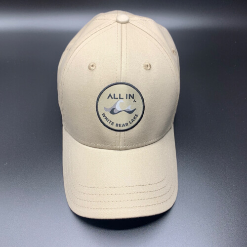 All In Hats White Bear Lake Khaki by Vince Miller Front