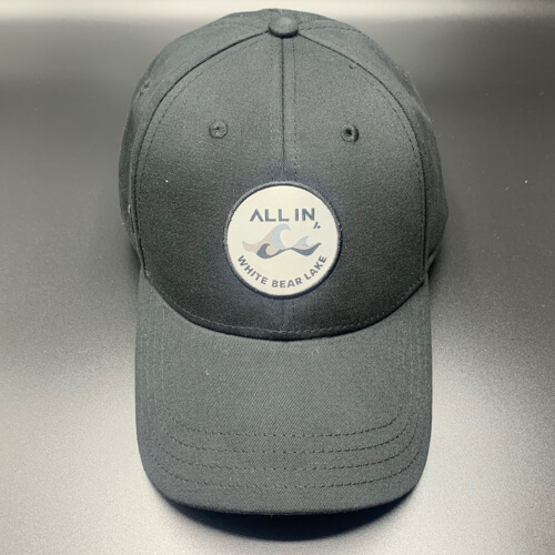All In Hats White Bear Lake by Vince Miller Black Front