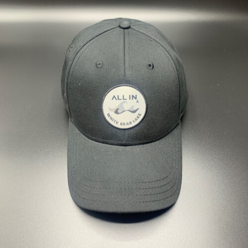 All In Hats White Bear Lake by Vince Miller Steel Front