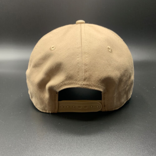All In Skater Flat Visor Khaki by Vince Miller Back