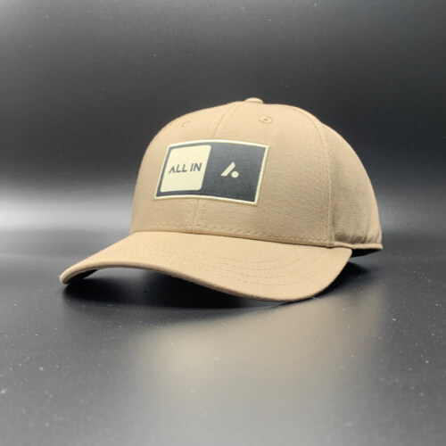 All In Skater Flat Visor Khaki by Vince Miller Home