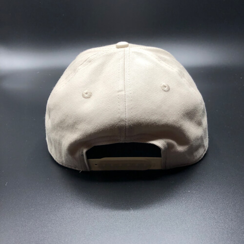 All In Skater Flat Visor Stone by Vince Miller Back 2