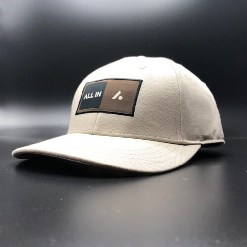 All In Skater Flat Visor Stone by Vince Miller Home 2