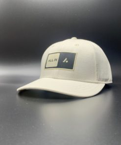 All In Skater Flat Visor White by Vince Miller Home