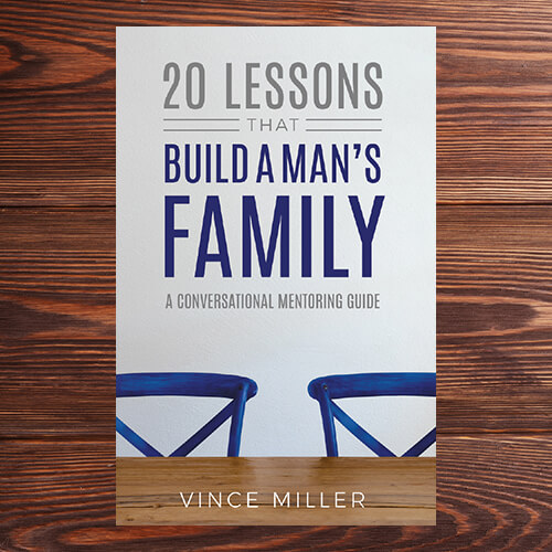 20 Lessons That Build A Mans Family by Vince Miller