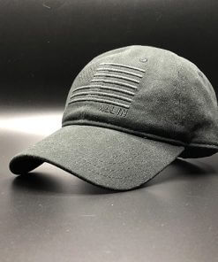 All In Flag Hat Black Front Angle by Vince Miller