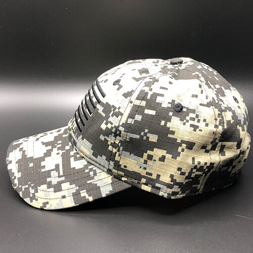 All In Flag Hat Digi Camo Black Side by Vince Miller