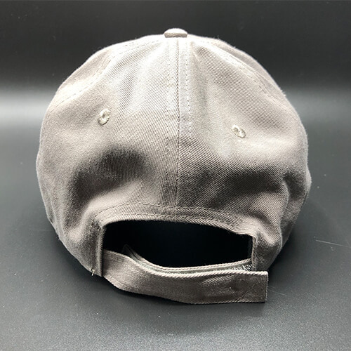 All In Flag Hat Grey Back by Vince Miller