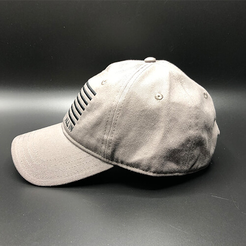 All In Flag Hat Grey Side by Vince Miller