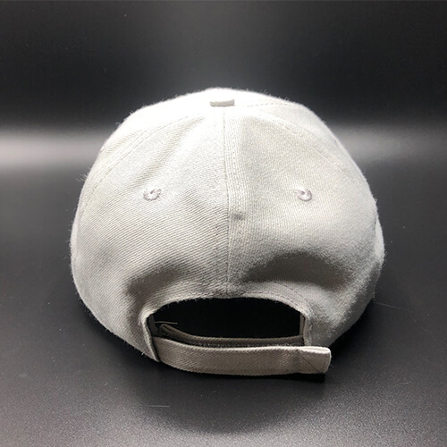 All In MN Hat Grey Back by Vince Miller