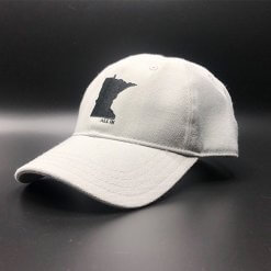 All In MN Hat Grey Front Angle by Vince Miller