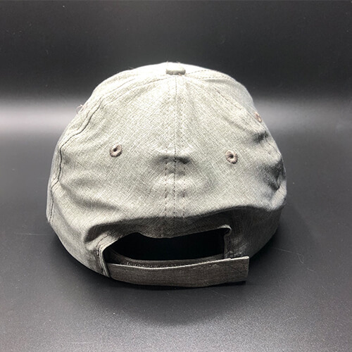 All In MN Hat Tri-Tech Grey Heather Back by Vince Miller