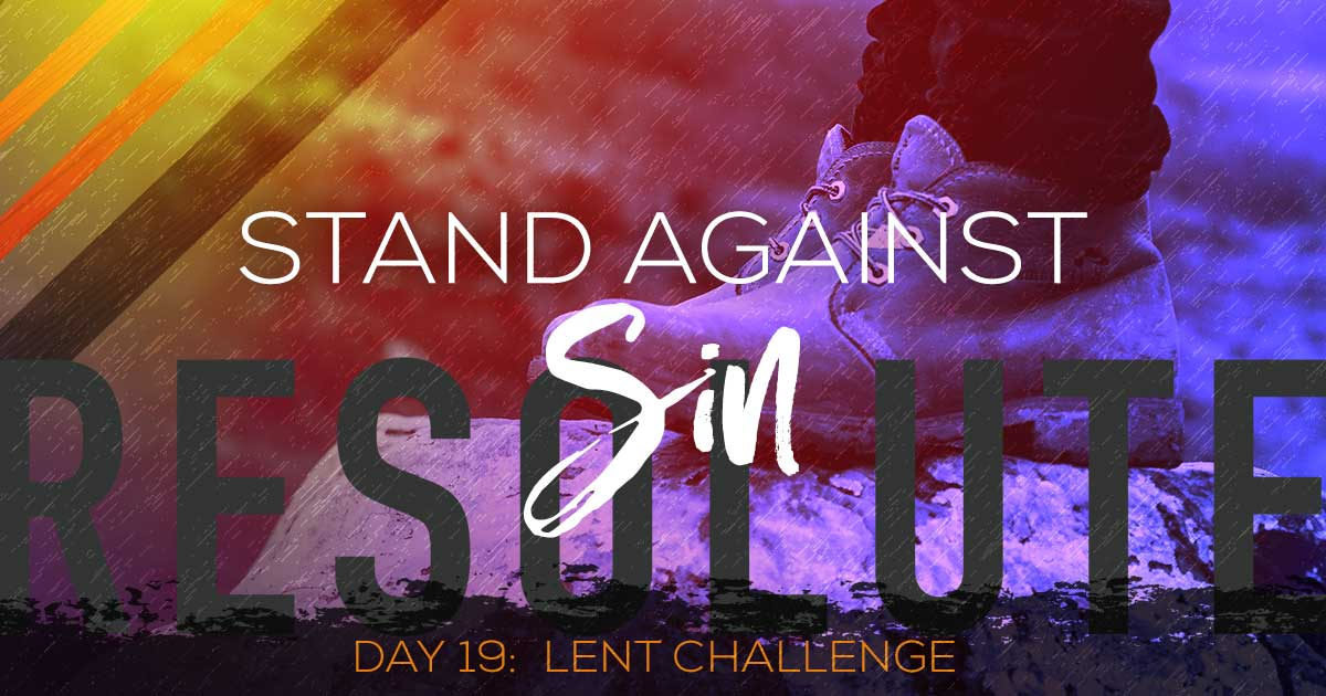 Vince Miller a lent devotional for men day 19