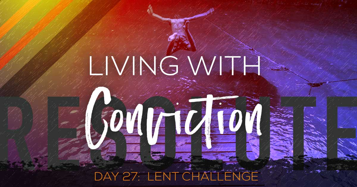 Living with Conviction by Vince Miller