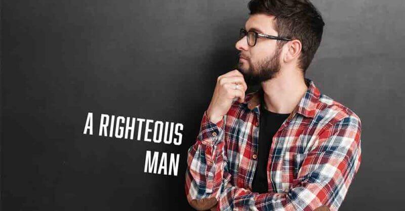 A righteous man Job 1:1 Vince Miller Daily Devotional